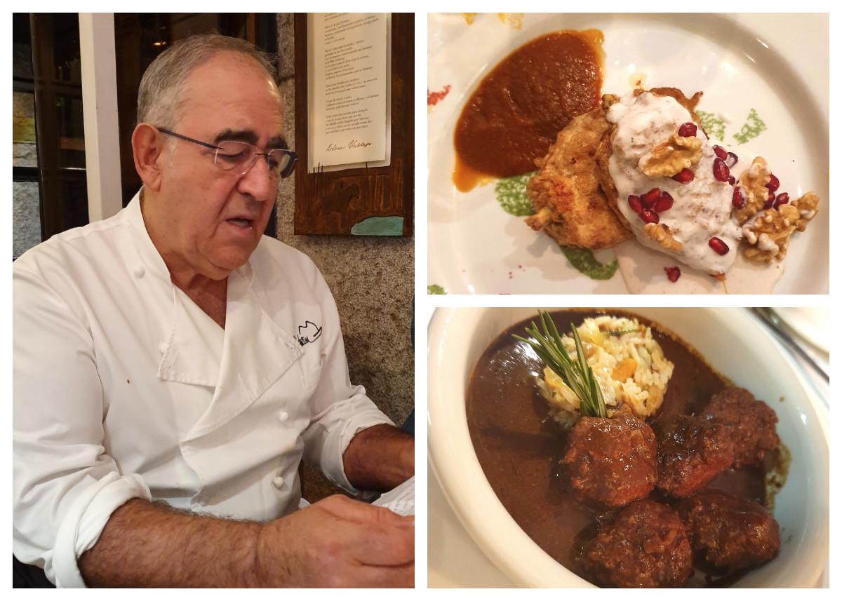 El menú de carne de lidia del chef Abraham García en Viridiana es para sacarle a hombros por la puerta grande