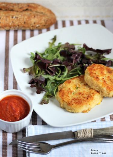 Pastelitos de patata y atún. Receta fácil para la cena