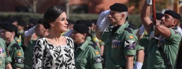 Doña Letizia rescata de su armario el famoso clon de Oscar de la Renta