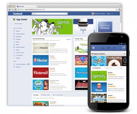 """Facebook anuncia """"App Center"""", su tienda de aplicaciones"""