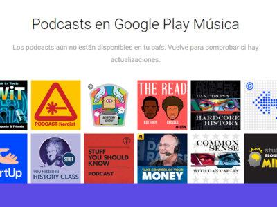 Los podcasts de Google Play Music podrían llegar el 18 de abril, al menos en Estados Unidos