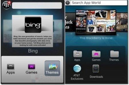 Se filtra posible imagen de la nueva BlackBerry App World