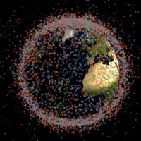 Contempla en tiempo real todos los satélites y la basura que orbita a la Tierra