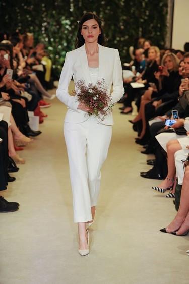 ¿Cómo serán las novias del 2016? Marchesa, Carolina Herrera y otras marcas se visten de blanco