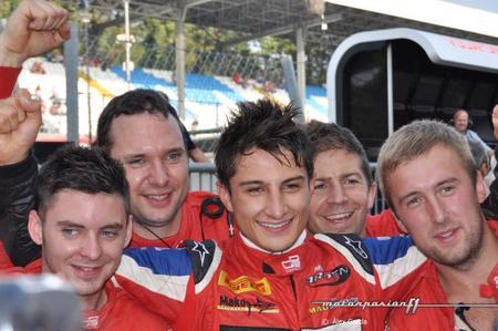 Mitch Evans se corona como campeón de la GP3 Series 2012 en Monza