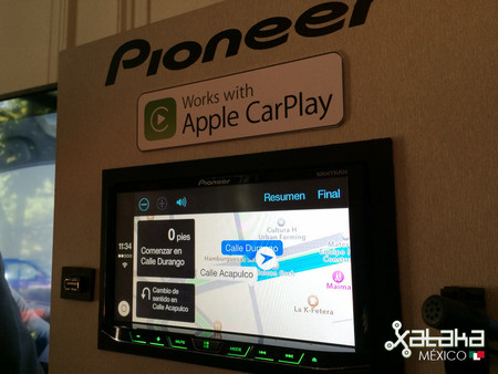 Pioneer Carplay Mexico 02