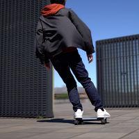 El patinete eléctrico más pequeño del mundo es esta tablet con ruedas y cuesta 1.600 euros
