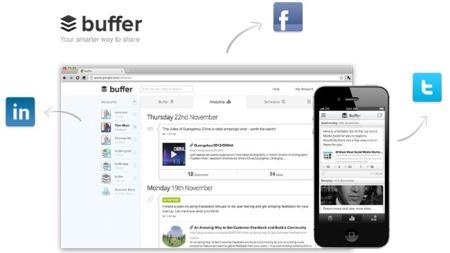 Buffer renueva su web y su aplicación móvil con un nuevo diseño y nuevas características