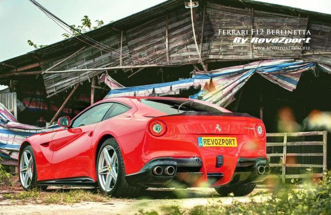 Revozport hace de sastre con el Ferrari F12 Berlinetta