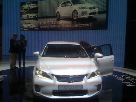 Presentación en Ginebra Lexus CT-200h