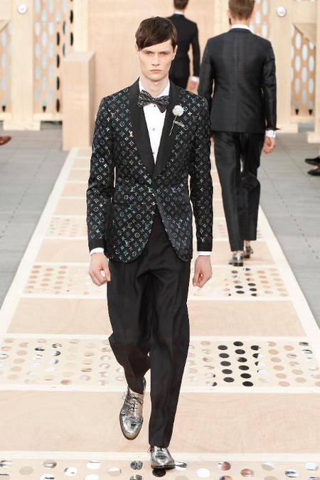 Esmoquin Louis Vuitton SS 2014