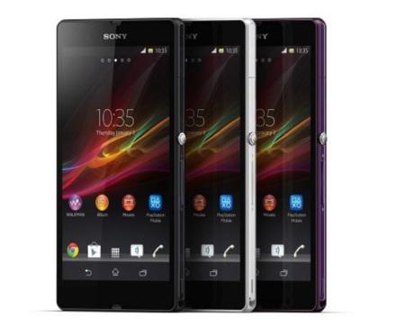 Sony Xperia Z modelos