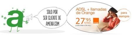 Amena da un paso hacia la convergencia ofreciendo ADSL por 27.95 euros al mes