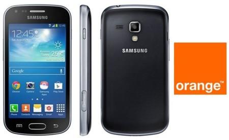 Precios Samsung Galaxy Trend Plus con Orange y comparativa con la competencia
