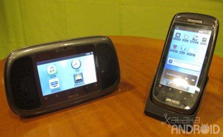 Home Connect y Smart Home Phone, Archos presenta su radio despertador y su teléfono fijo con Android