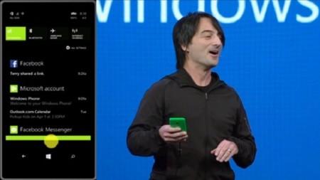 El nuevo Action Center de Windows Phone 8.1