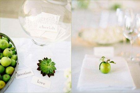 Manzanas boda