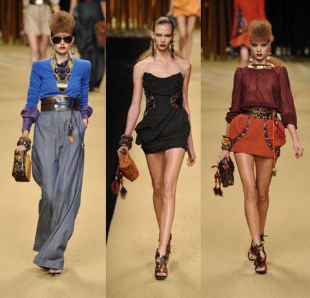 Louis Vuitton en la Semana de la Moda de París Primavera-Verano 2009
