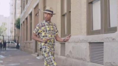 Pharrell y Daft Punk al descubierto de nuevo, y Valencia, feliz, como una perdiz