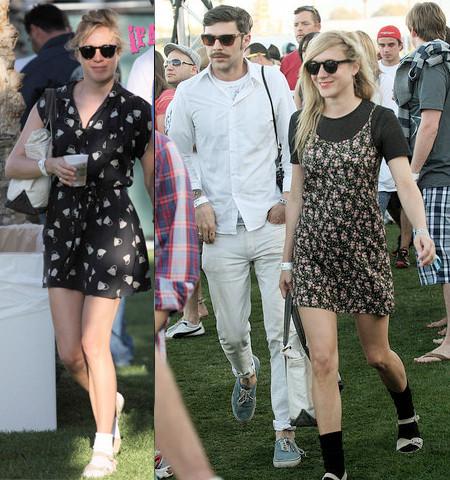 Las famosas en el festival de Coachella 2009
