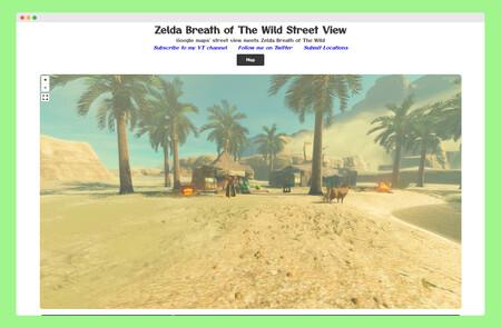 Zelda Breath Of The Wild Street View