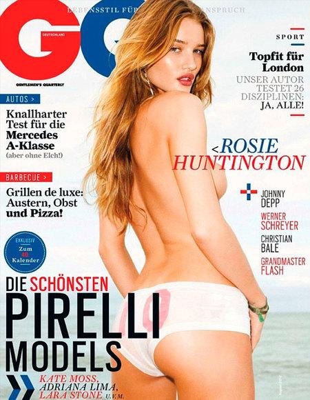 ¡Pero qué descocada Rosie Huntington-Whiteley en GQ!