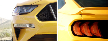 Ford Mustang 2018 Detalles