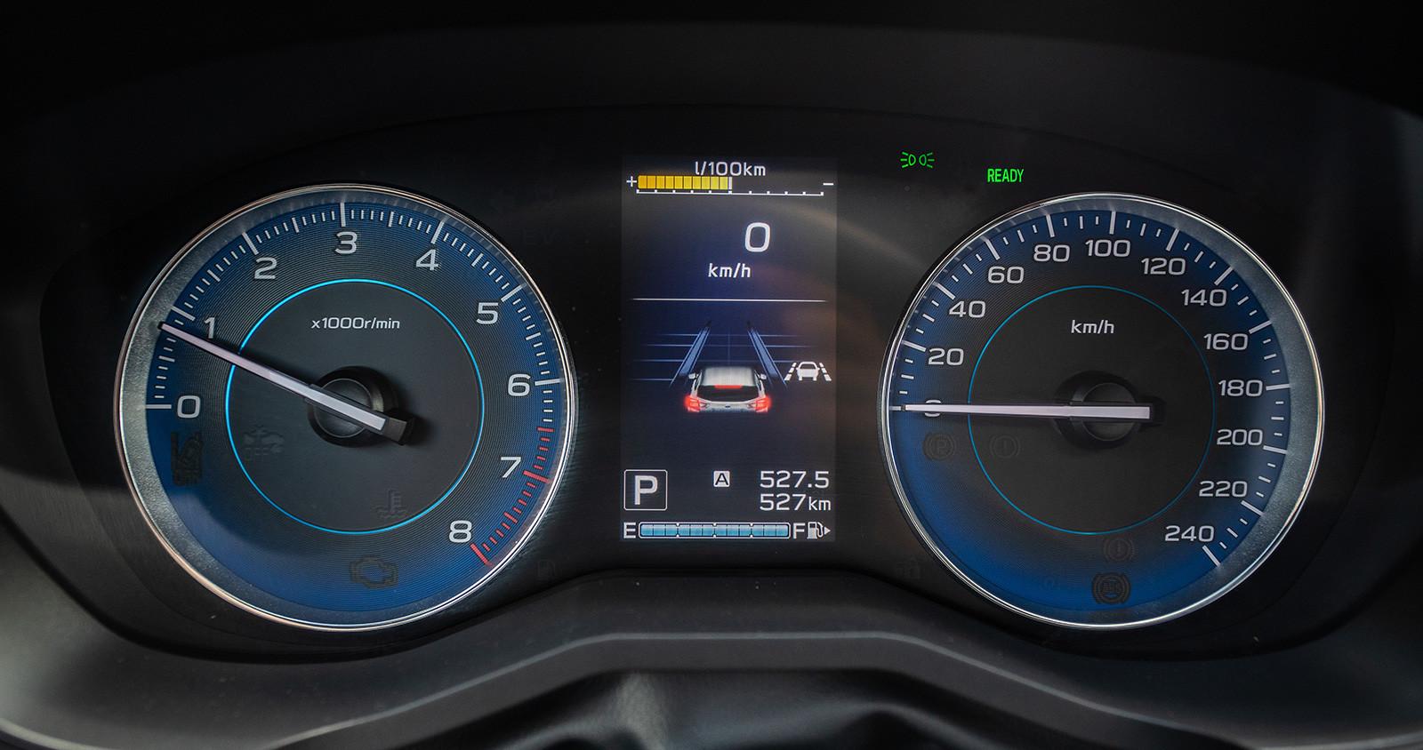 Foto de Subaru XV ECO HYBRID 2020, a prueba (19/35)