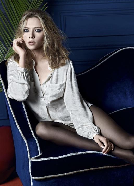 Foto de Nuevas imágenes de Scarlett Johansson para Mango, Otoño-Invierno 2010/2011: estilo para la mujer (6/7)