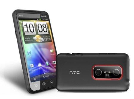 HTC EVO 3D, el primer smartphone de HTC con pantalla 3D y doble cámara