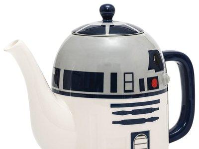Tetera cerámica Star Wars, con la forma de R2D2, por 8,24 euros