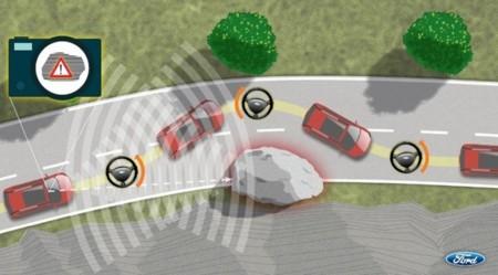 Ford también prueba con coches que esquivan obstáculos y peatones automáticamente