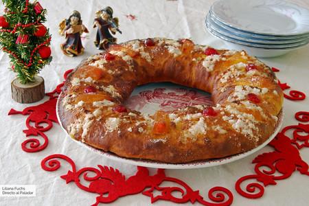 Roscón de Reyes vegano: la receta sin huevo ni lácteos