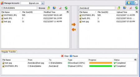Fire Uploader, sube ficheros a aún más sitios