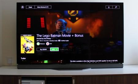 Las películas en 4K con HDR comienzan a llegar a la Xbox One video store