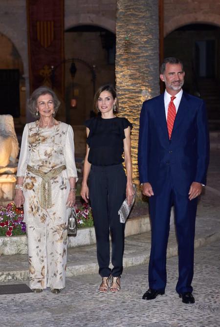Los Reyes de España en Mallorca