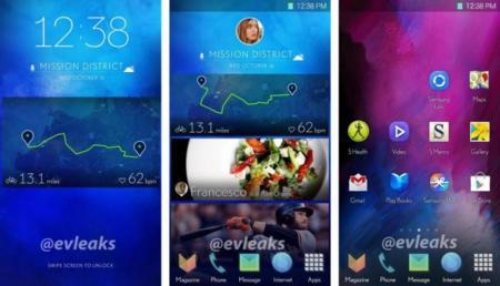 Samsung estaría probando con nuevas intefaces de usuario