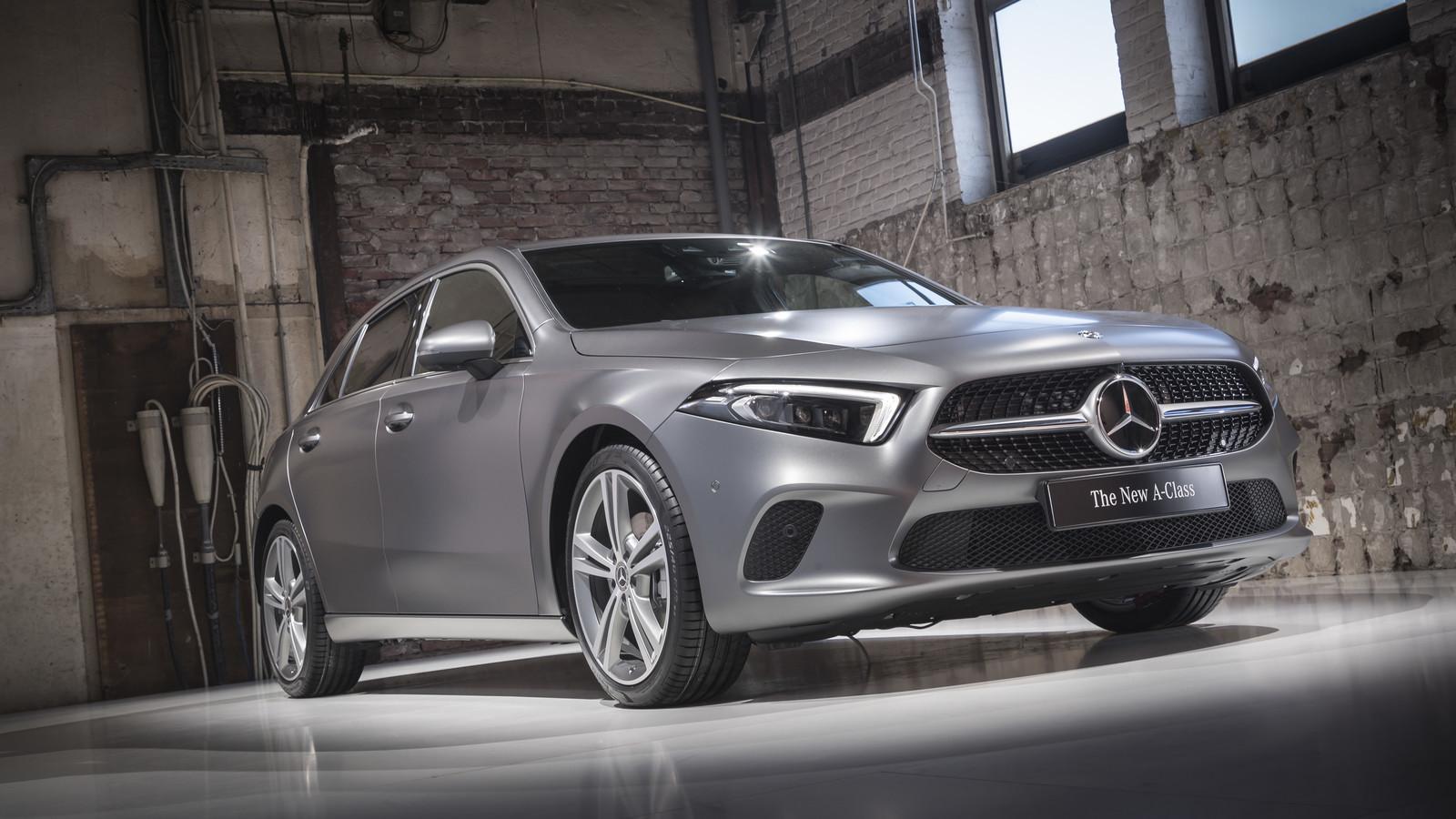 Foto de Mercedes-Benz Clase A 2018 - presentación (9/114)