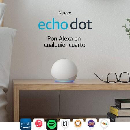 Amazon Echo Dot de cuarta generación de oferta en el Buen Fin 2020