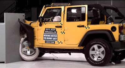 El Jeep Wrangler puede ser más seguro que el Cherokee