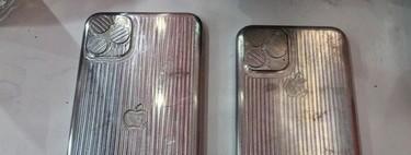 Aparecen los moldes de los supuestos próximos iPhone con la gran cámara triple
