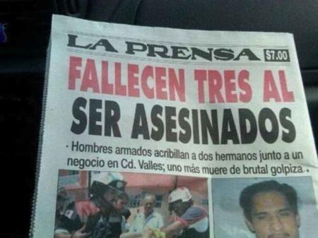 En busca de la portada más alucinante de los periódicos de sucesos mexicanos