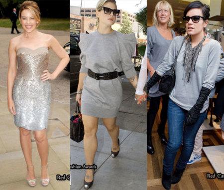El color gris: en vestido o en jersey, de noche o de día