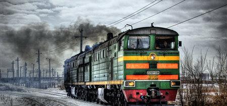 El tren ruso que para en medio de la nada única y exclusivamente para llevar a una niña al colegio