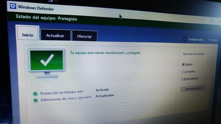 Le he dado una oportunidad a Windows Defender y me he encontrado con un buen antivirus