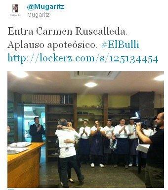 La última noche del El Bulli