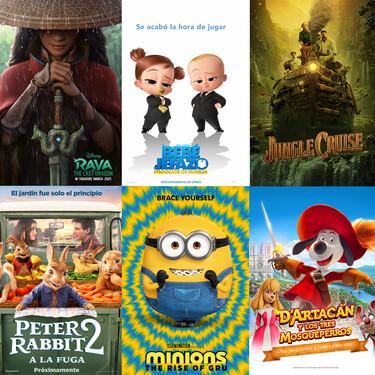 Películas infantiles: los estrenos más esperados para 2021
