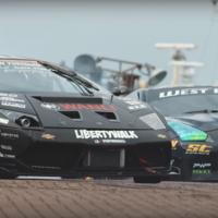 Battledrift 2: Cuando un Lamborghini Murcielago de tracción trasera se enfrenta a un Nissan GT-R