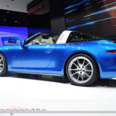 Foto 1 de 5 de la galería porsche-911-targa-991-salon-de-detroit en Motorpasión