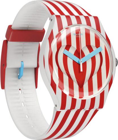 Swatch se prepara para San Valentín con un nuevo modelo